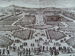 Tuileries Gardenb Le Notre 17th cent