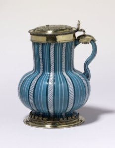 English Tankard 16th c BM
