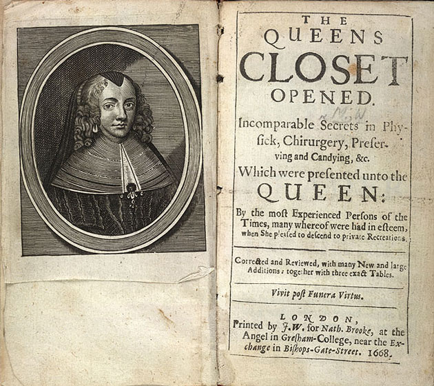 Image result for The Queens Closet Opened 1656