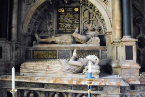 Tombs William Cavendish's parents Bolsover Church WordPress
