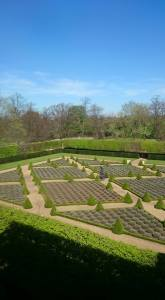 Privy Garden at Ham House, National Trust. Author Photo